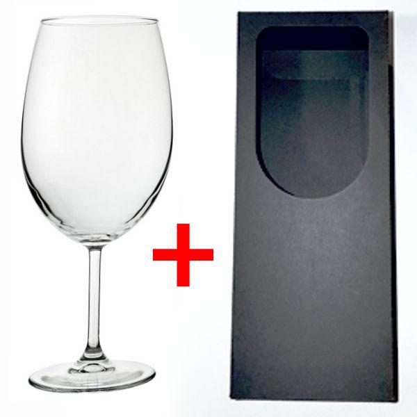 Boros pohár gravírozás+doboz