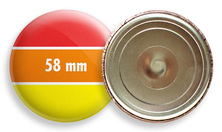 Hűtőmágnes 58 mm