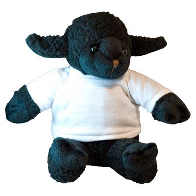 Plüss fekete bárány