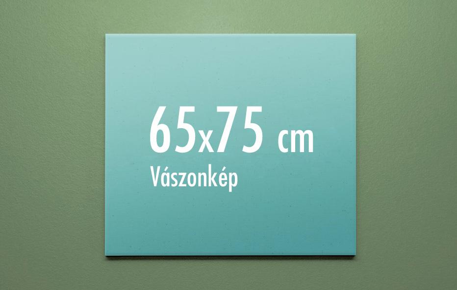 65 x 75 cm vászonkép
