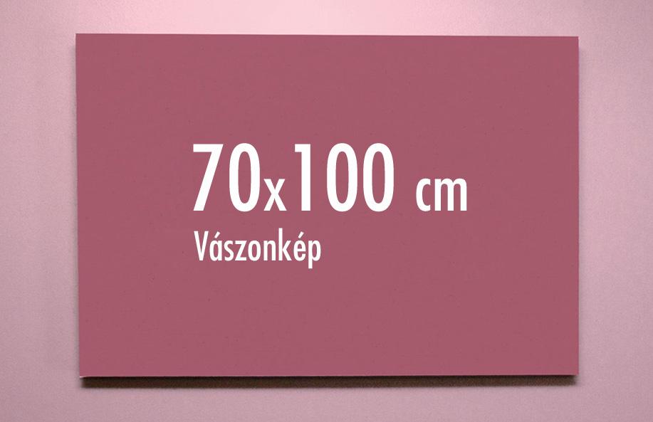 70 x 100 cm vászonkép